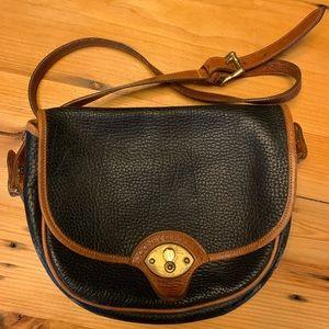 Vintage Dooney & Bourke Pebble Leather Crossbody